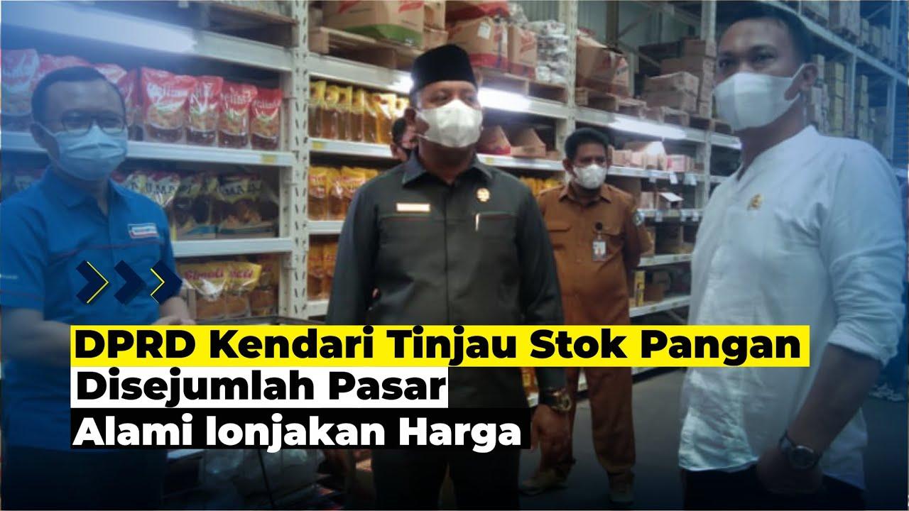 DPRD Kendari Tinjau Stok Pangan Disejumlah Pasar