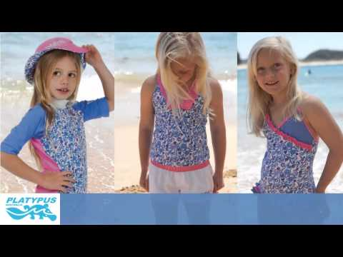 5dd1234454299 UV Protection In Children's Swimwear From Platypus Australia - YouTube