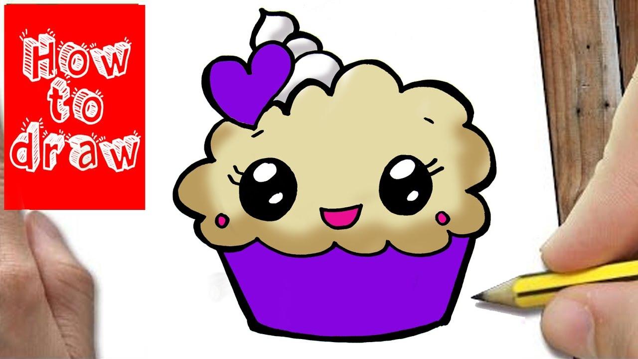 Hoe Teken Je Een Cupcake Leren Tekenen Voor Kids Youtube