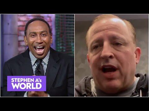 A FIRED-UP Stephen A. interviews Knicks coach Tom Thibodeau | Stephen A's World