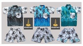 Baju Dan Celana Pantai Anak - Kemeja Pantai Anak Laki - Baju Hawai Anak - Baju Pantai Anak Cowo