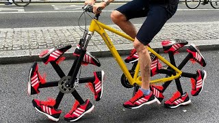 Inofasi Yang Nyeleneh! Inilah Sepeda Paling Unik Dan Aneh Di Dunia