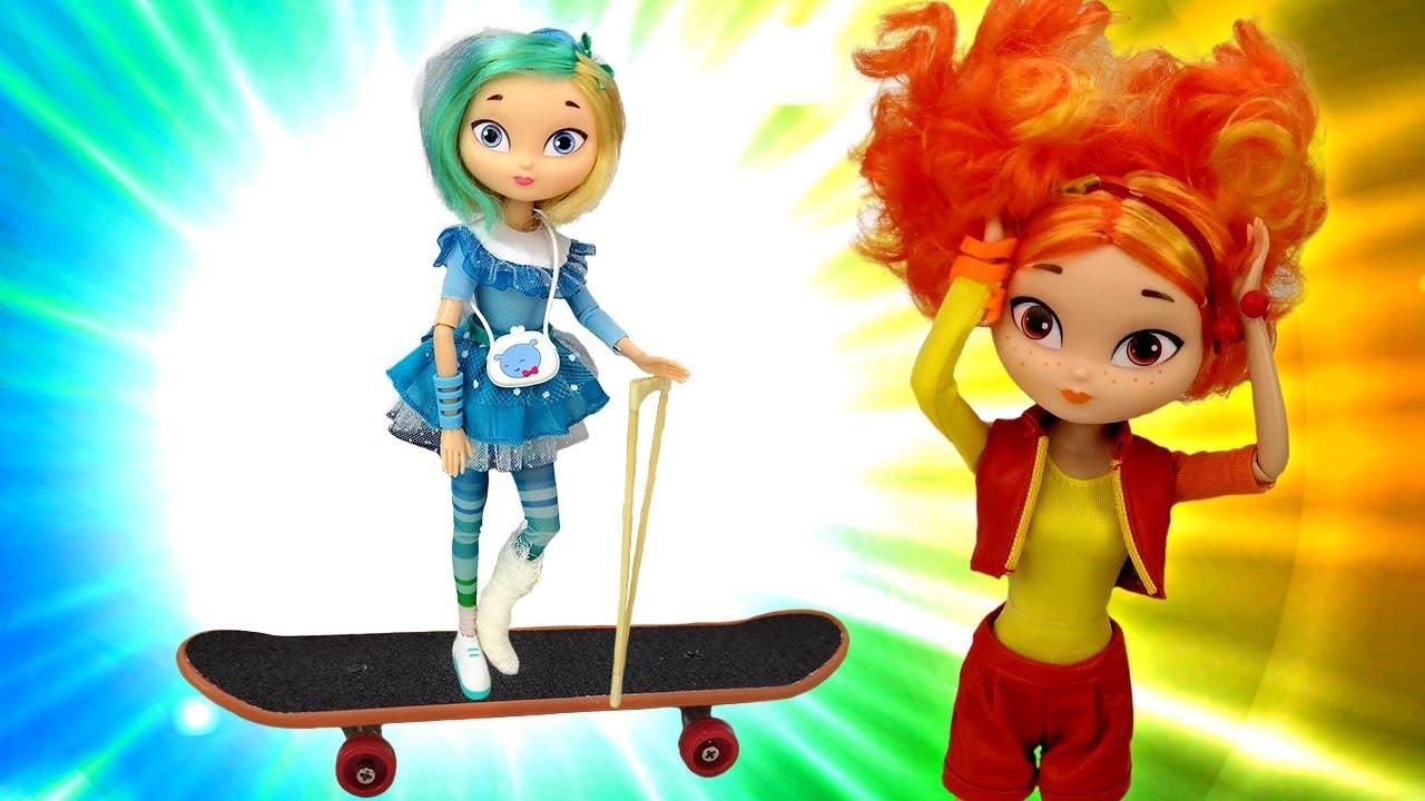 Подарок для Снежки. Сказочный патруль: видео про куклы ...