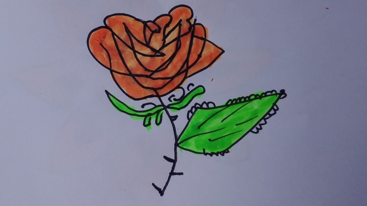 How To Draw A Rose Tattoo Draw Traditional Tattoo Flash Traditional