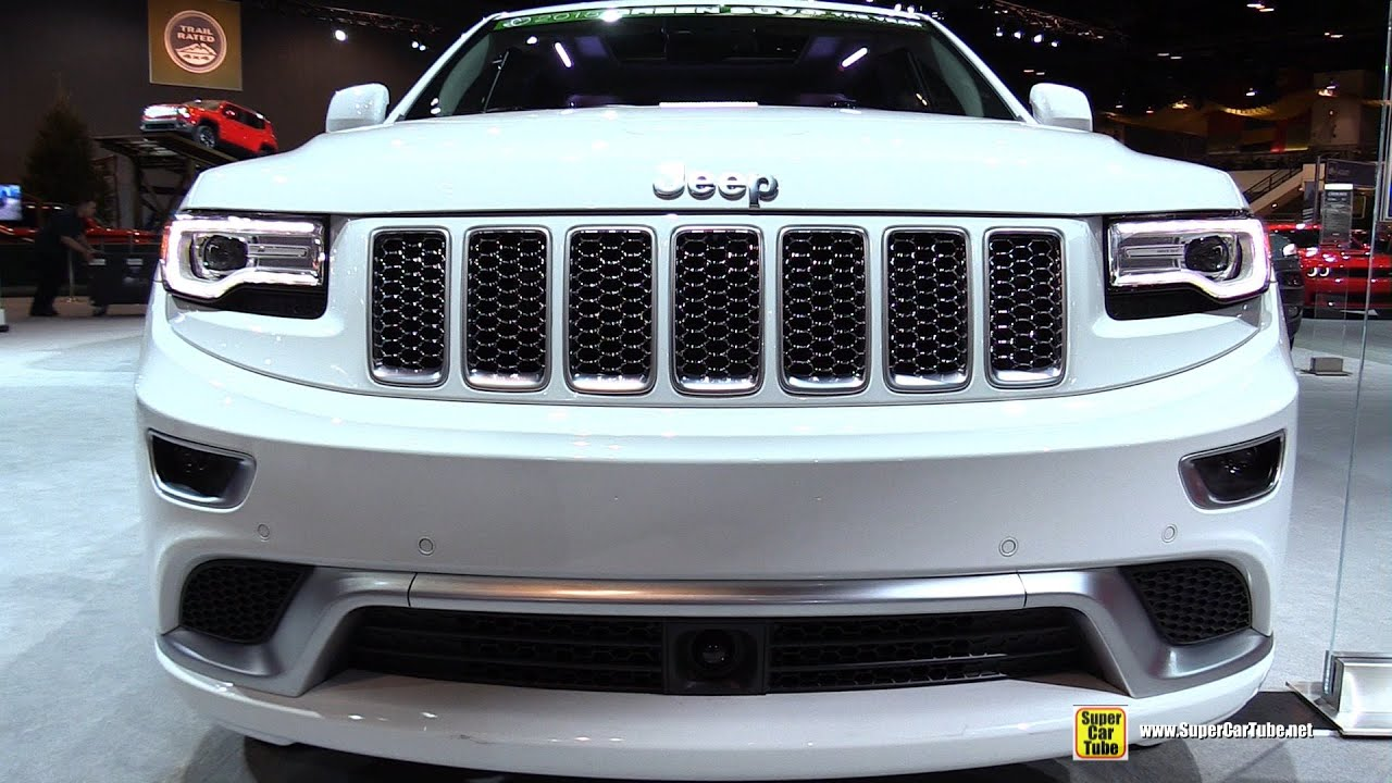 2015 Jeep Grand Cherokee Summit Exterior And Interior