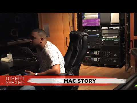 Mac Story (@MacStoryTV) Performs at Direct 2 Exec Los Angeles 10/16/17 - Rostrum Records