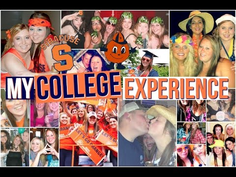 My College Experience | SYRACUSE UNIVERSITY: Greek Life, Dorms, Parties, Academics, & more!