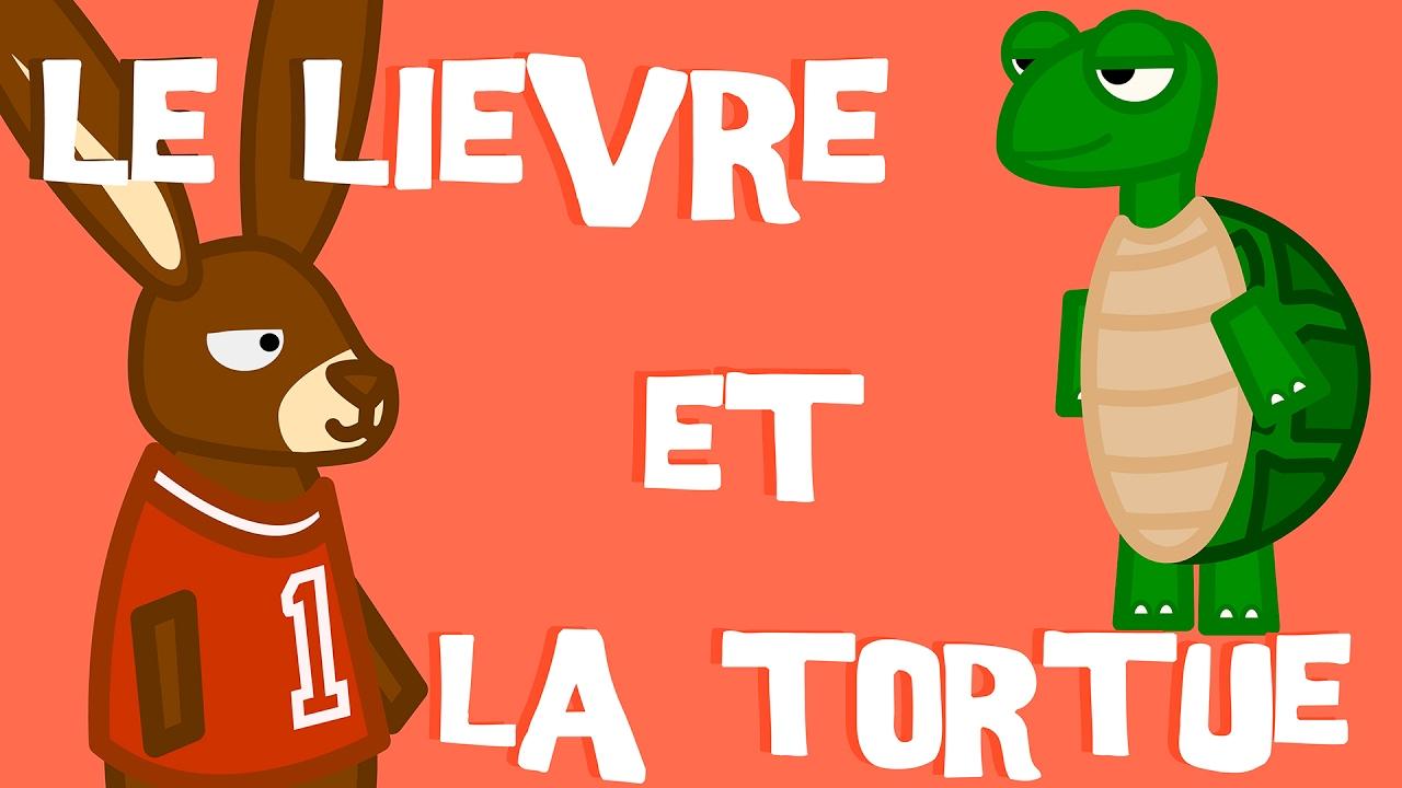 Le Lièvre et la Tortue - Fable de La Fontaine - YouTube