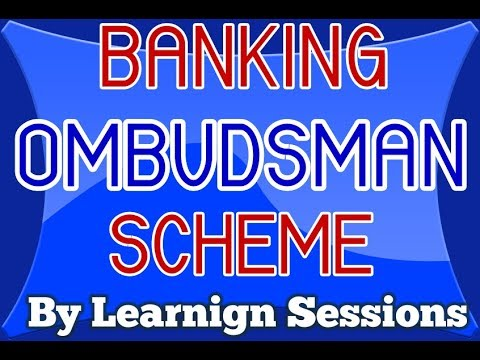What is Banking ombudsman scheme? jaiib live class Principles and Practices of Banking [Hindi]