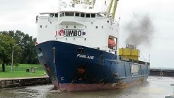 heavy load carrier FAIRLANE PBFW IMO 9153654 Emden sealock Jumbo Shipping Schwerlanstschiff