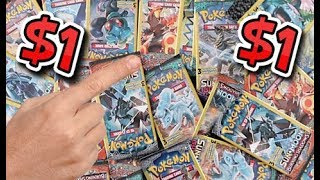 Opening $1 Pokemon Booster Packs!!