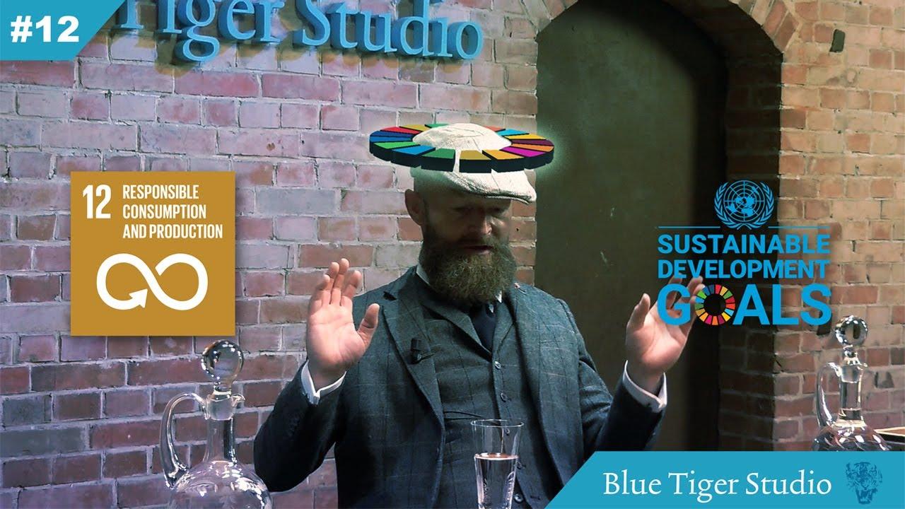 Komisch woordkunstduo Tom & Rypke over SDG 12: afschaffing eigendom!