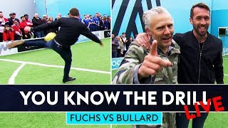 Hit It As Hard As Fuchs Challenge! | You Know The Drill | Christian Fuchs vs Jimmy Bullard