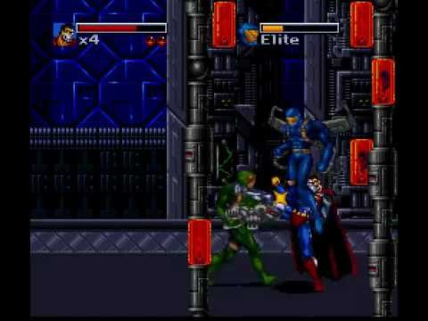 SNES Longplay [245] The Death and Return of Superman
