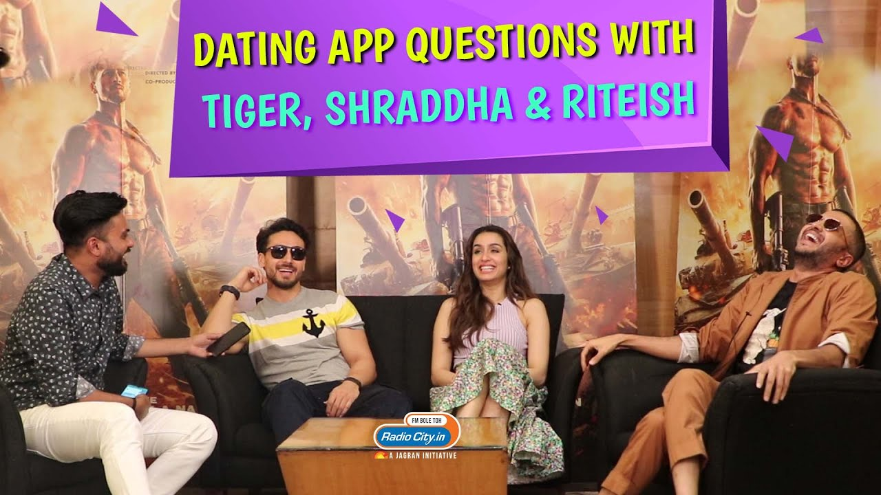 Tiger, Shraddha and Riteish's Hilarious Answers on Dating App Questions | Baaghi 3 thumbnail