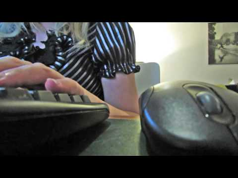 ASMR travel agent role play with keyboard typing sounds (softly spoken)