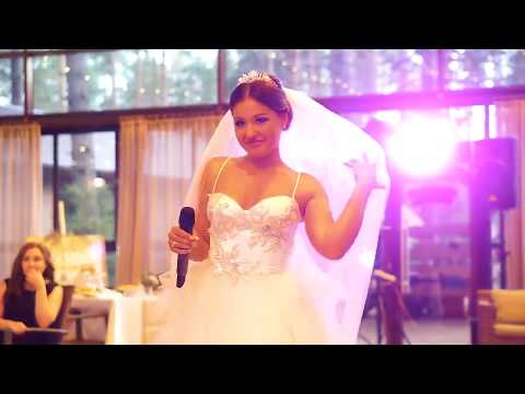 Невеста поёт на свадьбе  (песня Анны Седоковой , стихи Mary Gu)