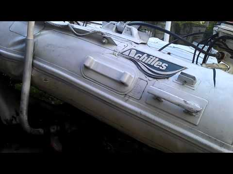 RIB boat Inflatable Tube Repairs Eliminated #1
