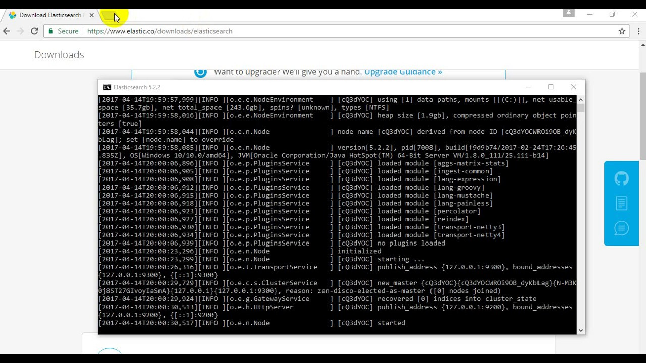 How to install Elasticsearch on Windows