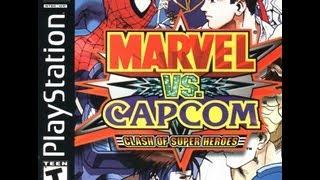 Marvel vs. Capcom: Clash of Super Heroes (PlayStation) - Spider-Man