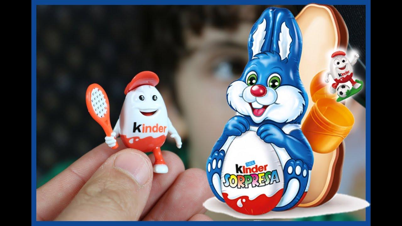 Coniglio Di Cioccolato Kinder Surprise Bunny Easter Bunnies Youtube