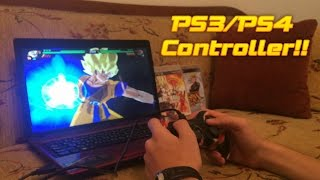How to play dbz Budokai Tenkaichi 3 on pc 2016 - PCSX2 with PS3/PS4 Controller