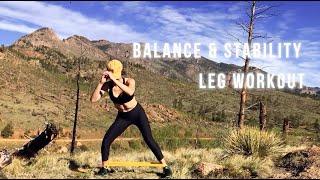 Balance & Stability - Leg Workout