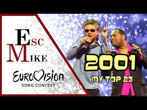 Eurovision 2001 - My Top 23 [With Rating]