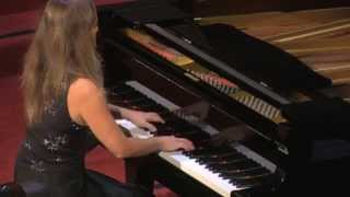 "Laura Magnani, piano performs: Frederic Chopin Prelude Op.28 No.15 ""The raindrop"" Thumbnail"