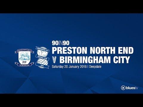Preston North End 1 - 1 Birmingham City | 90in90