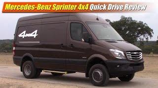 Mercedes-Benz Freightliner Sprinter 4x4: Quick Drive