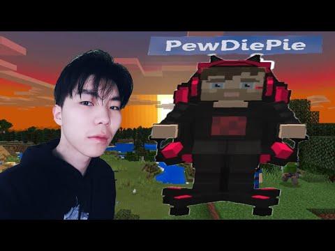 PewDiePie-г Minecraft дээр зодов.
