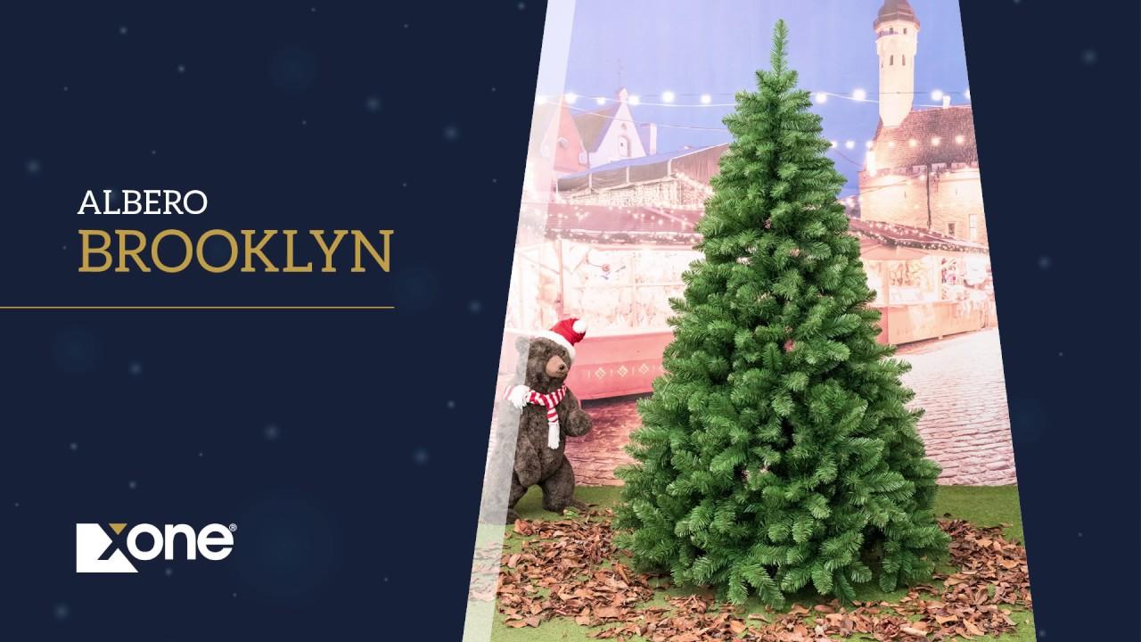 Albero Di Natale H 240.Albero Di Natale Xone Super Folto E Realistico Brooklyn In Pvc H 150 180 210 240 270 300 Cm