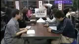 japanese game show- silent library