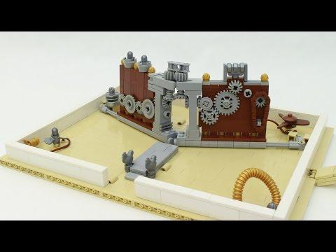 Steampunk LEGO Pop-Up Book featuring Grant Davis