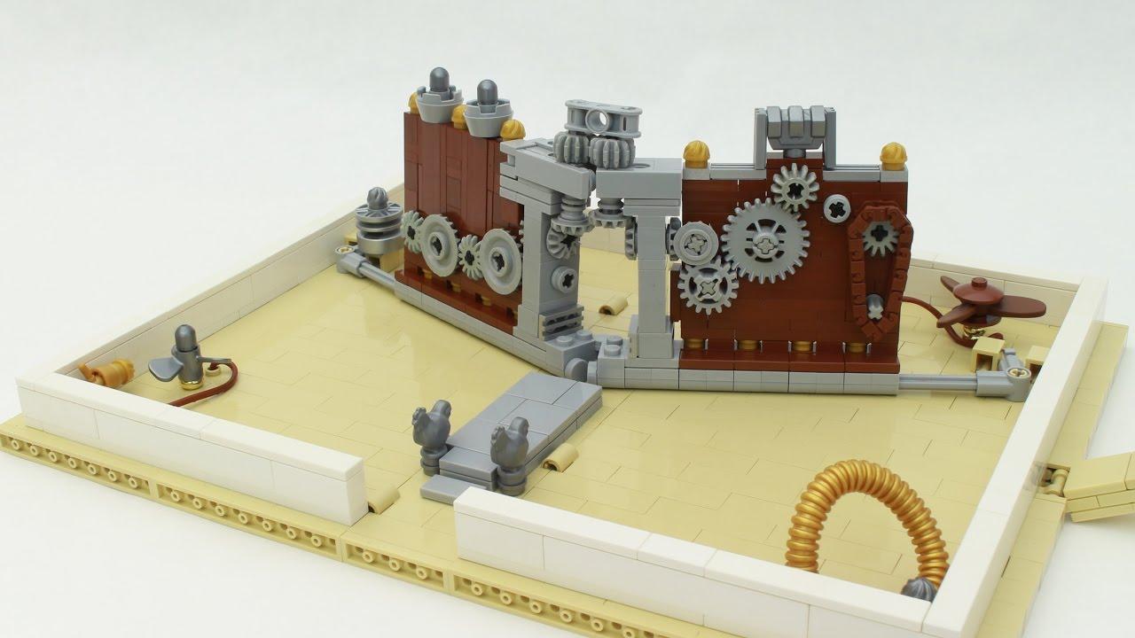 Steampunk LEGO Pop-Up Book featuring Grant Davis - YouTube