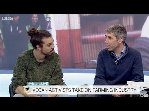 Vegan VS Dairy Farmer (Live BBC Debate)