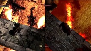 Dark Souls 2 - April 2013 Vs Retail Lighting and Graphics Comparison Part 1