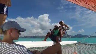 CATAMARAN CRUISES MAURITIUS POWERED BY OCEANVOLT