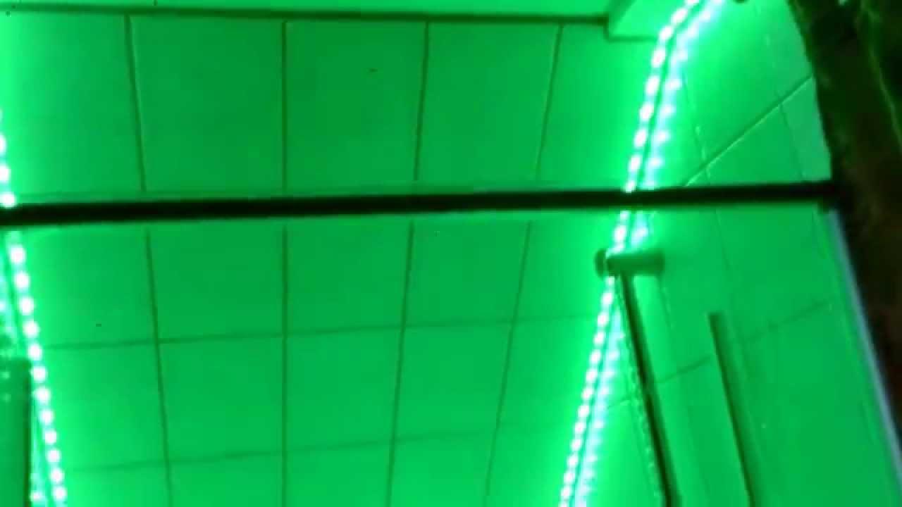 Duschlampe