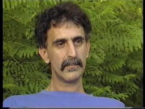 "Frank Zappa interview, Danish television 22-sept-1987 ""Inventing Modern America"""