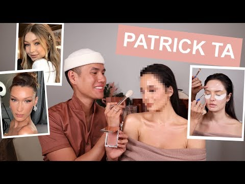 Bella Hadid's Makeup Artist Does my Makeup! Celebrity MUA Patrick Ta thumbnail