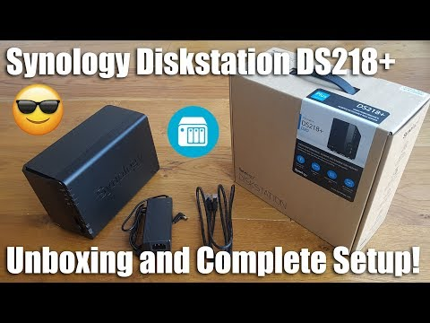 Synology DS218+ 2 Bay Desktop NAS Enclosure [Hands on Review and Test]