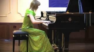 "Franz Liszt. Three Concert Etudes, op. 144, No. 2 ""La leggierezza"""