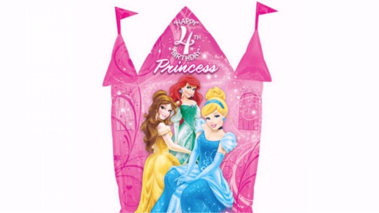 Happy 4th Birthday Princess Quotes | WishesGreeting