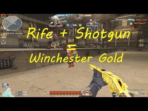 [ Bình Luận CF ] Winchester Gold săn Zombie v4 - Tiền Zombie v4