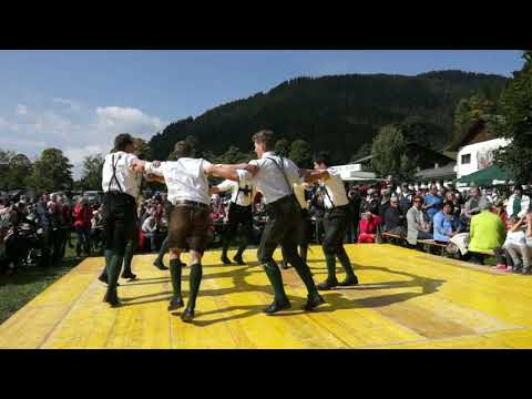 Austrian  Folk Dance  Schuhplattler   (Ramsau) / Австрийский  шуплаттер