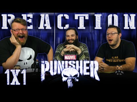 "Marvel's The Punisher 1x1 REACTION!! ""3 AM"""