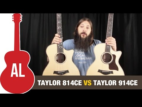 taylor 814ce vs 914ce is the 914 really better taylor guitars. Black Bedroom Furniture Sets. Home Design Ideas