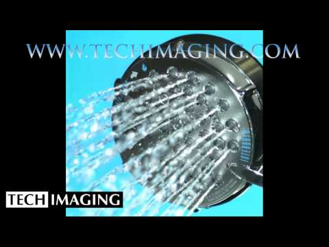 High Speed Camera Video - Shower head